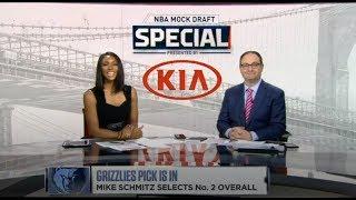 Adrian Wojnarowski on ESPN NBA Mock Draft Special Full   No. 1: Zion Williamson to Pelicans