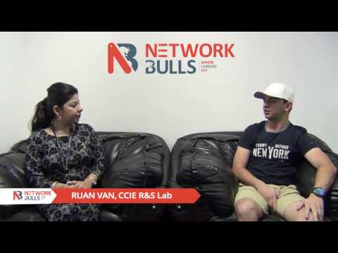 Ruan from South Africa Talks about CCIE R&S Lab Training in India | Network Bulls