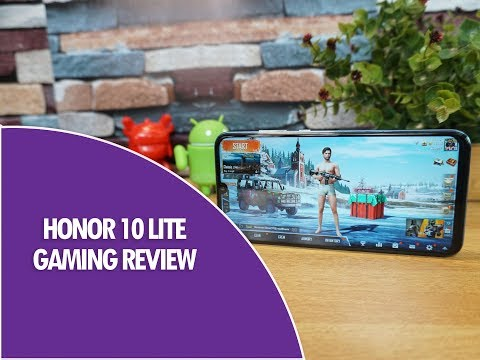 Honor 10 Lite Gaming Review with PUBG Mobile- Heating and Battery drain