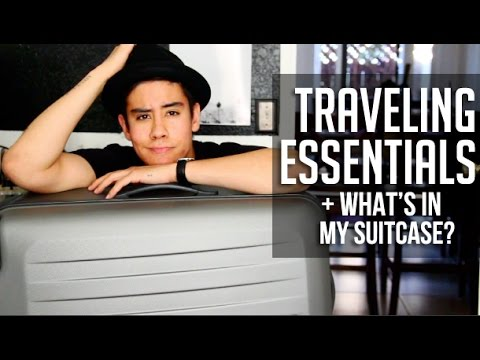 PACKING TIPS & TRAVELING ESSENTIALS (MADE EASY) | JAIRWOO