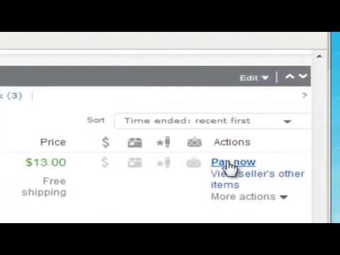 how to pay on ebay with your paypal account