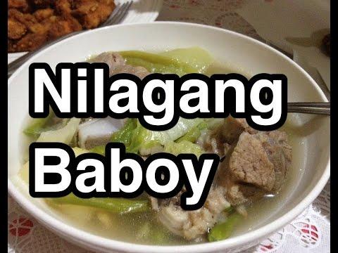 Paano magluto Nilagang Baboy Recipe - Pinoy Filipino Pork Stew