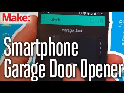 Weekend Project: Smartphone Garage Door Opener