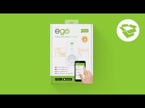 Unboxing efergy eGO WiFi smart plug