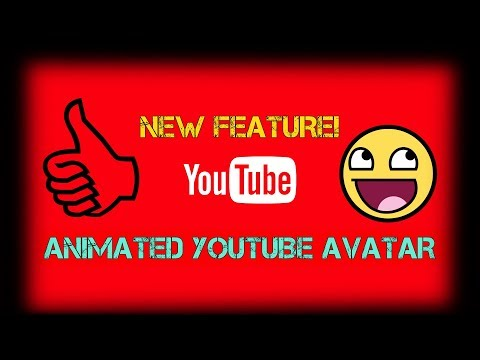 *NEW* YOUTUBE ANIMATED AVATAR IN 2 MINUTES! .GIF Avatar