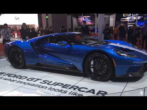 2018 Ford GT supercar is Ford's fastest car