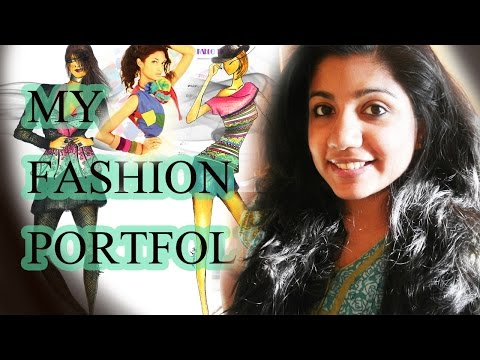 My Fashion Portfolio: How to create a portfolio