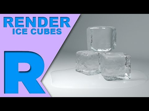 How Do I Render: Ice Cubes (Renderman & Maya)