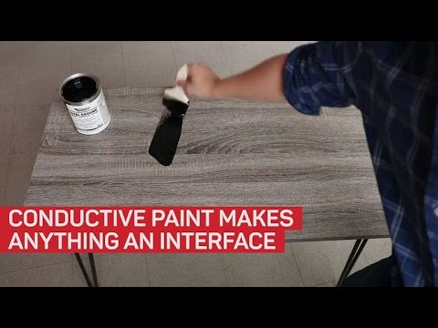 This Electrick paint turns any object into a touch-enabled device
