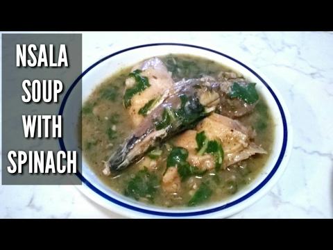Nsala Soup   How To Cook Ofe Nsala   (white soup)