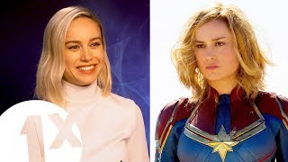 Download ″Fake it till you make it!″ Captain Marvel's Brie Larson on living life as a superhero. Video