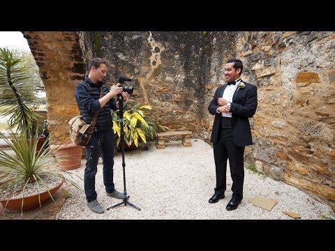 Wedding Filmmaking Behind the Scenes - Sarah and Steven