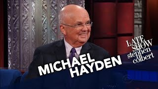General Michael Hayden Says The CIA Is Not Spying On Us Through Our Televisions