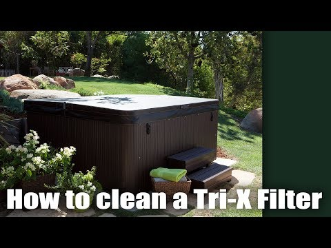 Hot Tub Tutorial - How to clean a Tri-X Filter