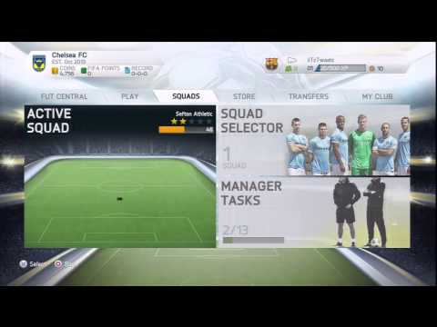 FIFA 14 Unlimited Coins (PS3) Real Time Editing