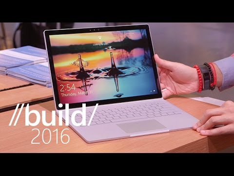 Build 2016: Building on Surface Book