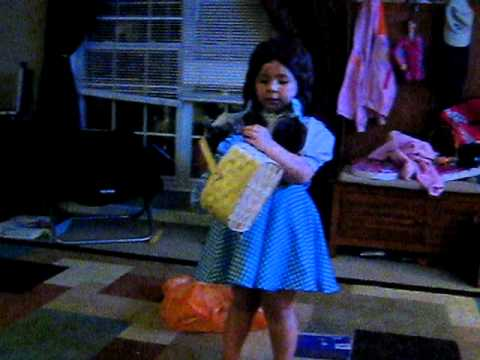 Addie as Dorothy