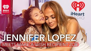 Jennifer Lopez Makes A Fan's Dream Come True!