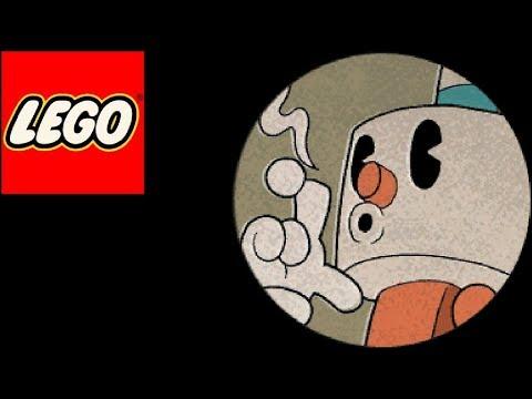 How to build lego Cuphead bosses: Puphead