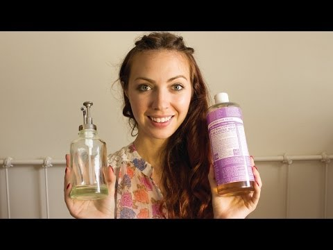 Dr Bronners Healthy Hand Soap DIY