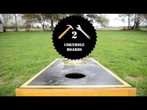 Woodworking || DIY: Build a Heavy Duty Cornhole Set