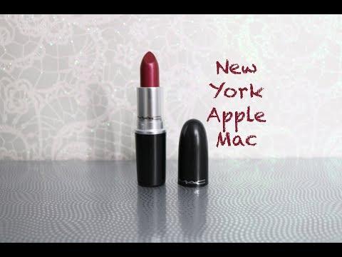 New York Apple Mac Cosmetics