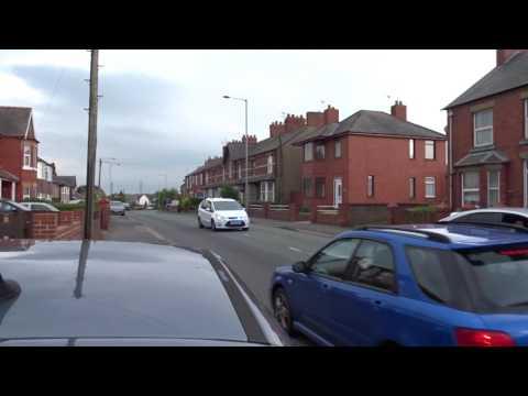 Covert North Wales Police dog van on 999 emergency call Flint UK 12.5.17