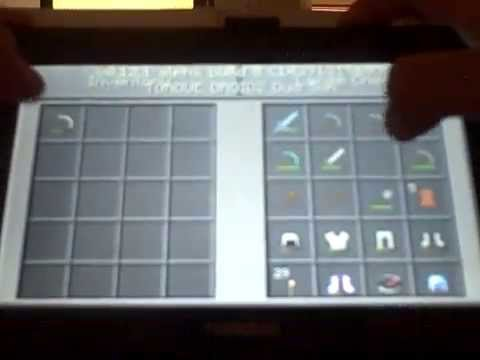 MINECRAFT PE TUTORIAL1:HOW TO MAKE AN ENCHANTMENT TABLE IN SURVIVAL
