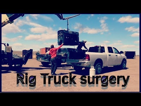 Rig Truck goes in for Cosmetic Syrgery