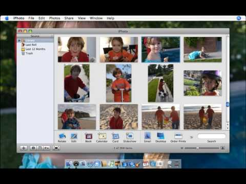 Apple iLife '06 Multimedia Tutorials Set Your Desktop Picture and Screen Saver