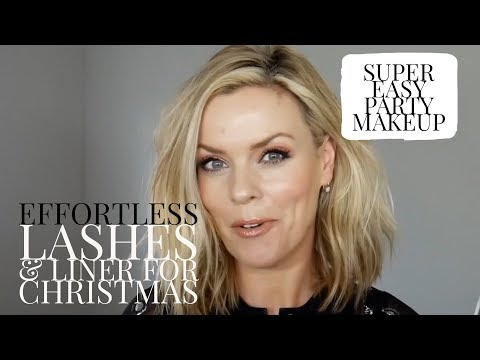 Effortless Lashes & Liner for Christmas