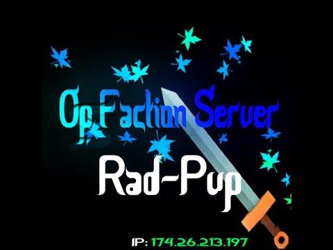 Minecraft 1.6.4 Op Faction Server [New]