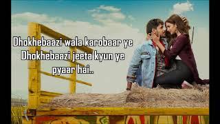 Khwabfaroshi Lyrics | Jabariya Jodi | Sachet Tandon , Parampara Thakur |