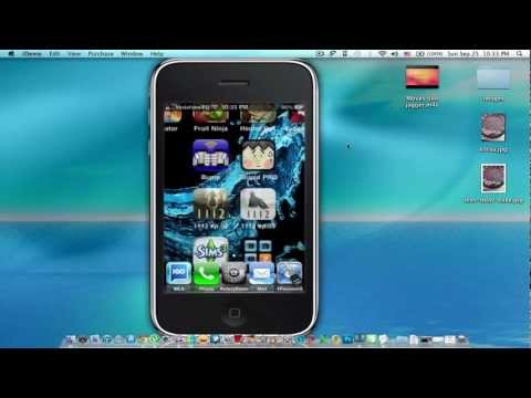 How to Make iPhone 3GS as a Router 'Modem'