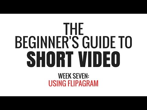 Using Flipagram for iPhone to Make Short Videos