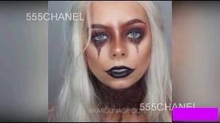 ||gurl London|| أفضل مكياج هالوين::best Halloween Makeup::
