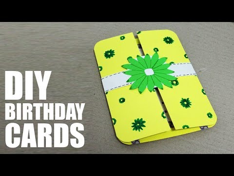 DIY Birthday Cards for Mother -  Handmade Cards for Mothers Birthday