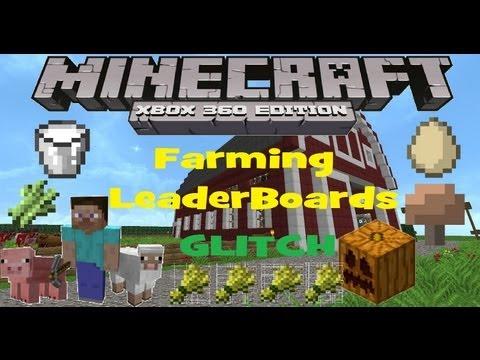 Minecraft xbox 360 Leaderboards Glitch