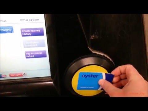 Cómo comprar una Oyster Card en Londres