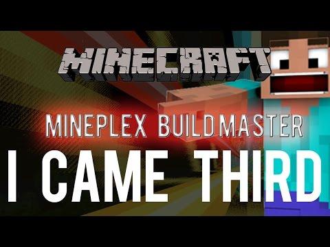 Mineplex Master Builder - I CAME THIRD