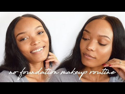 No Foundation Quick & Easy Makeup Routine | Alicia Fuller
