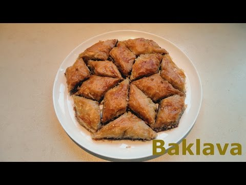 How to make Baklava - Authentic Greek Baklava Recipe