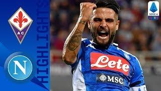Fiorentina 3-4 Napoli   Il Napoli risponde subito alla Juve con 4 gol a Firenze!   Serie A