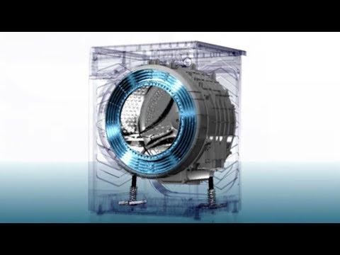 Hitachi Washing Machine - Dual Vibration Control System