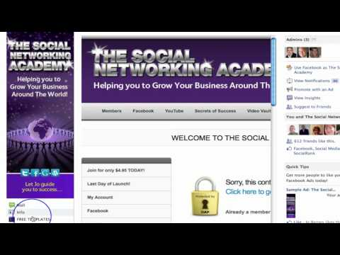 Create a Website on Facebook Part 1 - Introduction