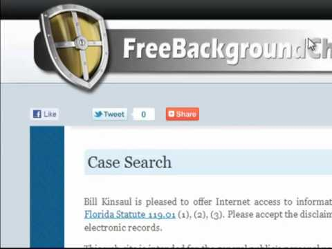 How To Search Public Criminal Records For Free