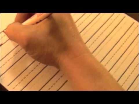 Handwriting Capital D (Multi-Sensory Alphabet)