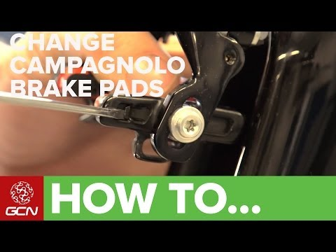 How To Change Campagnolo Brake Pads - GCN's Maintenance Mondays