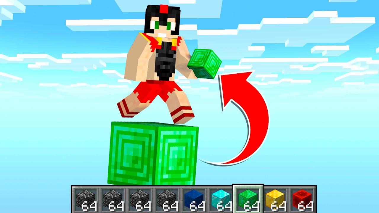 Paso Minecraft pero Obtengo TODOS los BLOQUES QUE PISO 😂 Invictor y Acenix