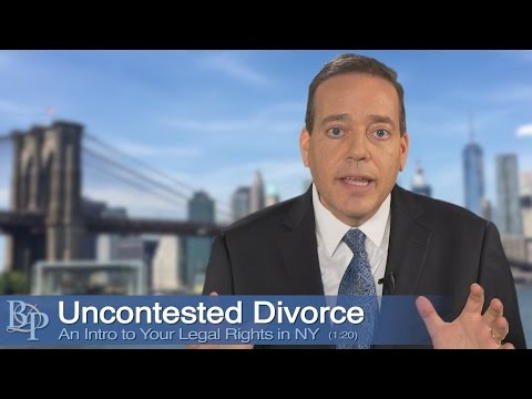 Uncontested Divorce - New York Divorce Attorney Brian D. Perskin